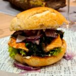 Schmalers Grill Lachs Burger