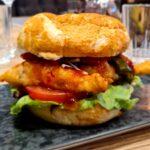 Chicken Tempura Burger!