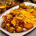 Schmaler`s Schnitzel Platte