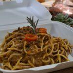 Spaghetti Bolognese vom Wildschwein